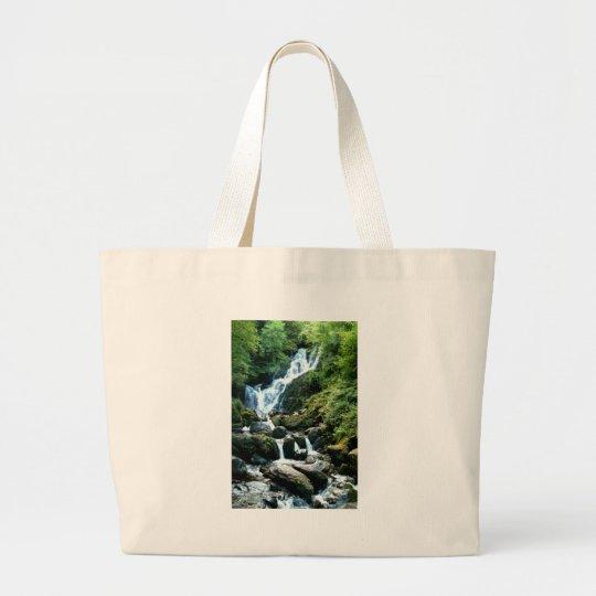 Torc Falls Killarney Ireland Large Tote Bag