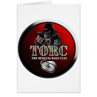 TORC GEAR CARD