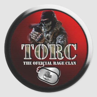 TORC GEAR CLASSIC ROUND STICKER