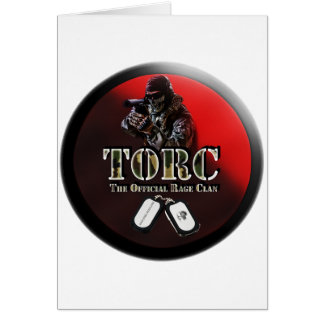 TORC LOGO STYLE PRODUCTS CARD