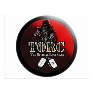 TORC LOGO STYLE PRODUCTS POSTCARD