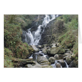 Torc Waterfall, Killarney Ireland Card