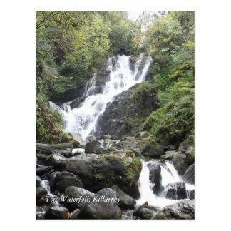 Torc Waterfall, Killarney. Ireland Postcard