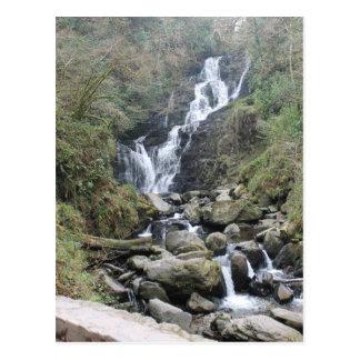 Torc Waterfall, Killarney Ireland Postcard