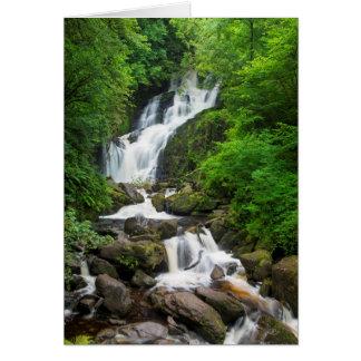 Torc waterfall scenic, Ireland Card