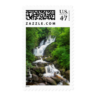 Torc waterfall scenic, Ireland Postage