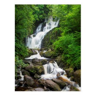 Torc waterfall scenic, Ireland Postcard
