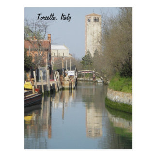 Torcello, Italy Postcard