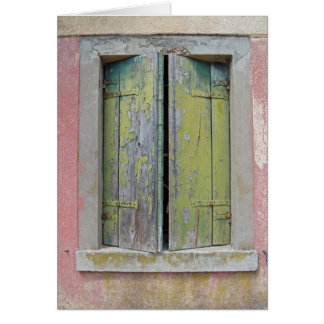 Torcello Shutters Card