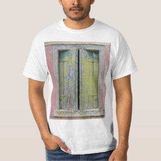 Torcello Shutters - Image on Front Tee Shirt