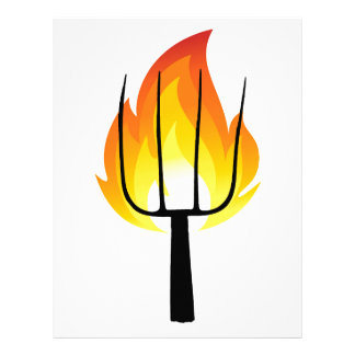 Torch and Pitchfork Letterhead