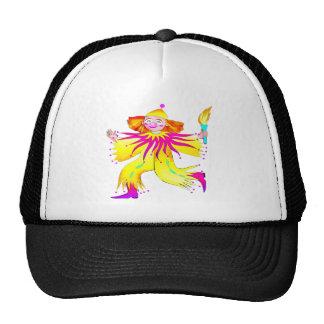 Torch Carrying Circus Clown Trucker Hat