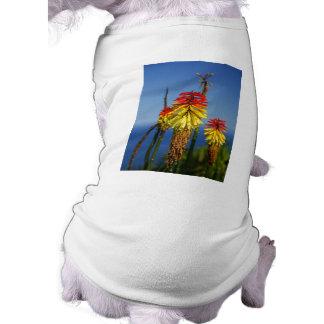 Torch lilies pet tshirt