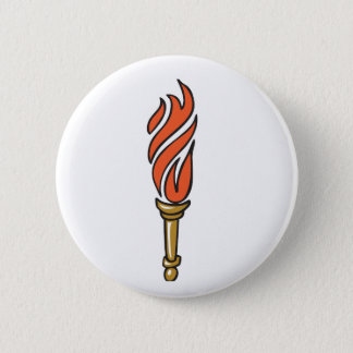 TORCH NO GLOW PINBACK BUTTON