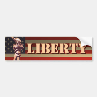 Torch of Liberty Bumper Sticker