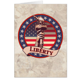 Torch of Liberty Card