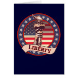 Torch of Liberty Greeting Card