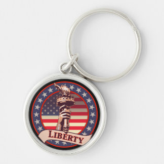 Torch of Liberty Keychain