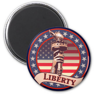 Torch of Liberty Magnet