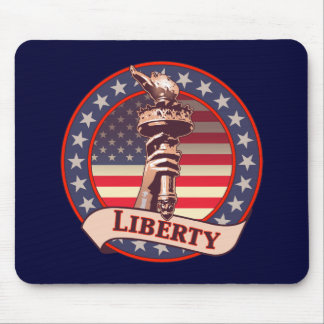 Torch of Liberty Mouse Pad