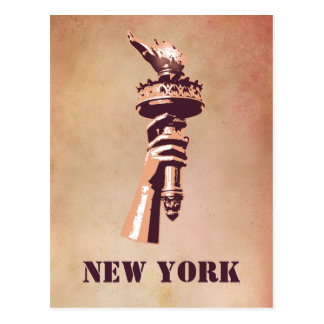 Torch of Liberty, New York Postcard