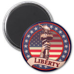 Torch of Liberty Refrigerator Magnet