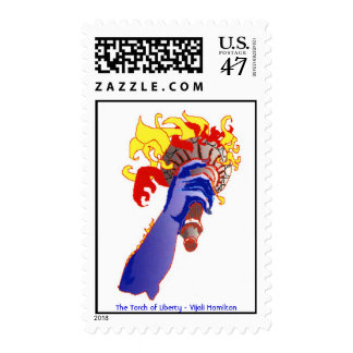 Torch of Liberty/Stamp Postage