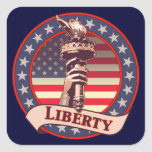 Torch of Liberty Stickers