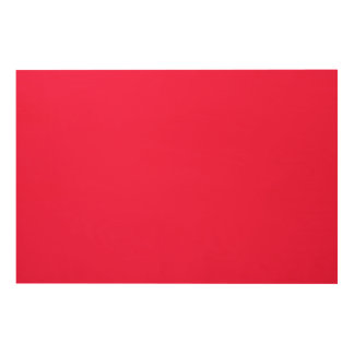 Torch Red II Wood Wall Decor