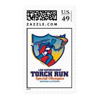 Torch Run stamp