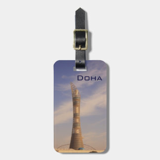 Torch Tower in Doha Luggage Tag