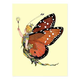 Torchbearing Pixie Fairy Postcard