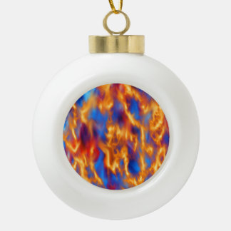 Torched by Kenneth Yoncich Ceramic Ball Christmas Ornament
