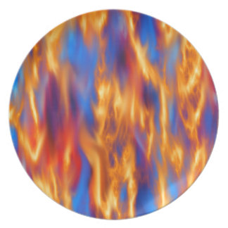 Torched by Kenneth Yoncich Dinner Plate