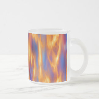 Torched Frosted Glass Mug