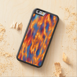 Torched Carved® Maple iPhone 6 Bumper