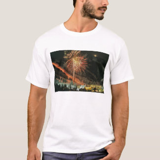 Torchlight parade and fireworks during Winter T-Shirt