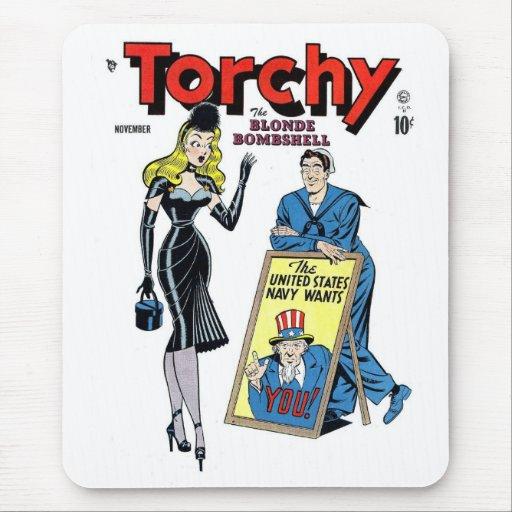 Torchy, la bomba rubia Mousepad
