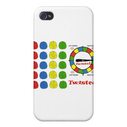 Torcido iPhone 4 Cárcasa