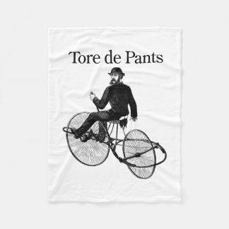 Tore de Pants Fleece Blanket