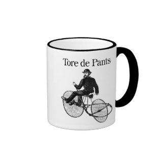 Tore de Pants Ringer Coffee Mug