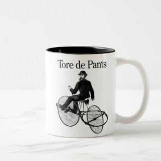 Tore de Pants Two-Tone Coffee Mug