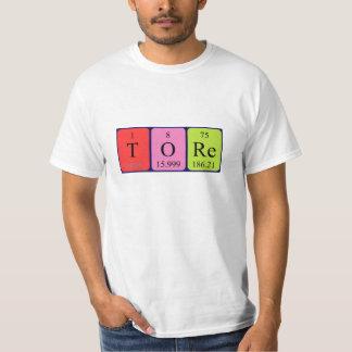 Tore periodic table name shirt