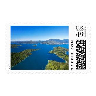Torea Bay, Queen Charlotte Sound, Marlborough Postage Stamp