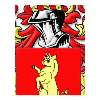 Torella Coat of Arms Custom Letterhead