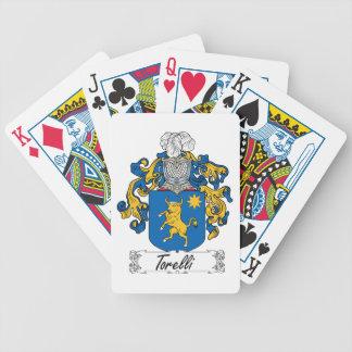 Torelli Family Crest Poker Cards