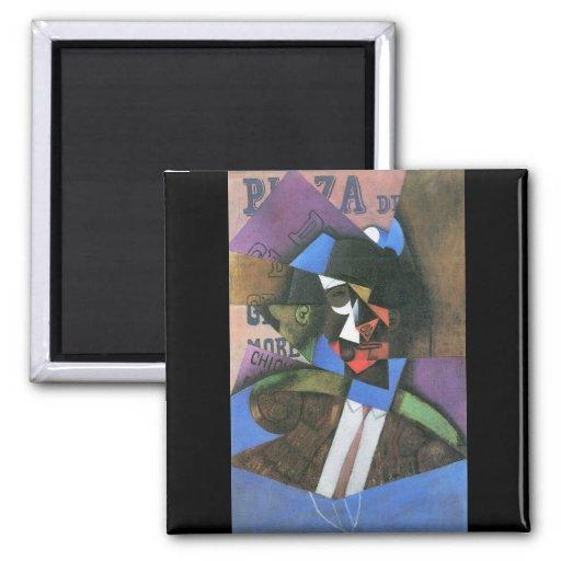 Torero by Juan Gris Fridge Magnets