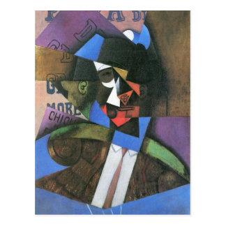 Torero by Juan Gris Postcard