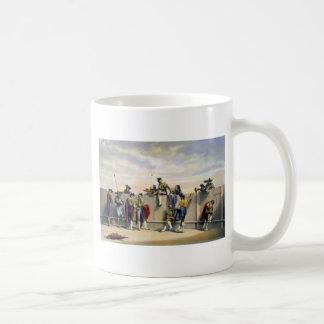 Toreros Reposing Between the Bulls Coffee Mug