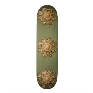 Toreuma Bellagemma gold & Green Skateboard